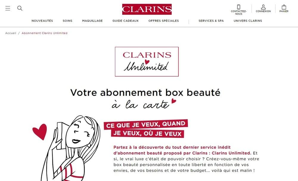 clarins-web